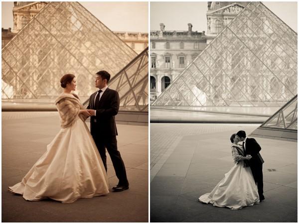 paris wedding louvre