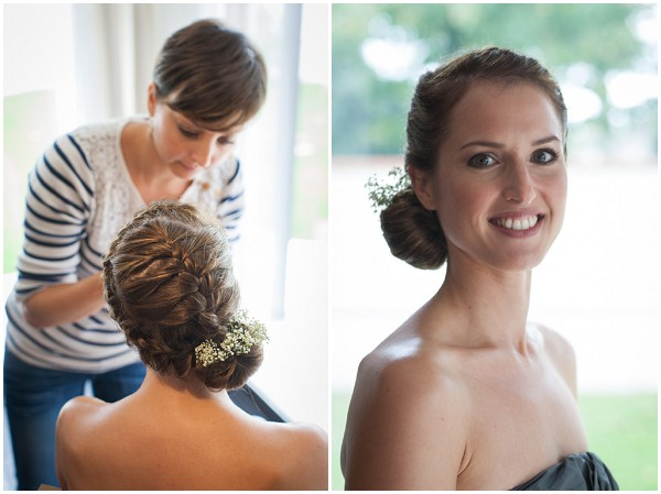 side sweep wedding hair