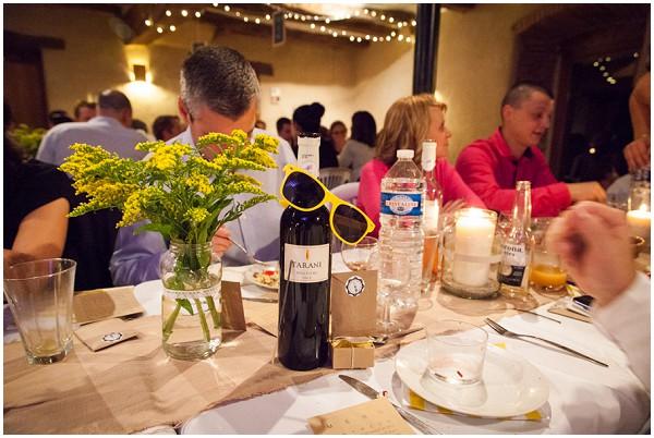 sunglasses wedding reception