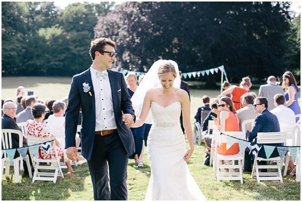 sunny garden wedding service