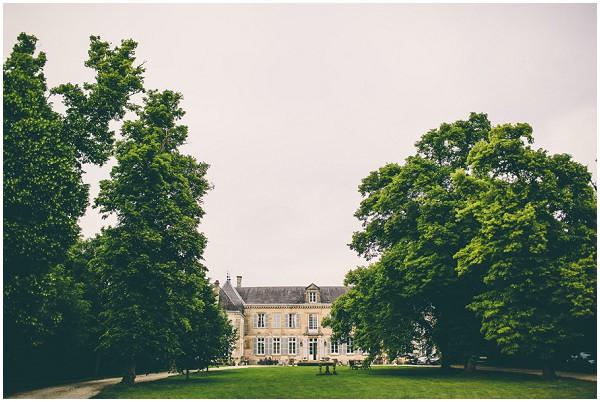Destination wedding at Chateau de Mairy