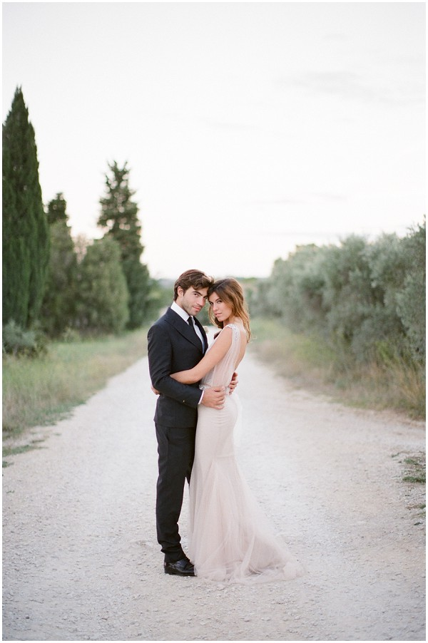 wedding inspiration shoot in provence