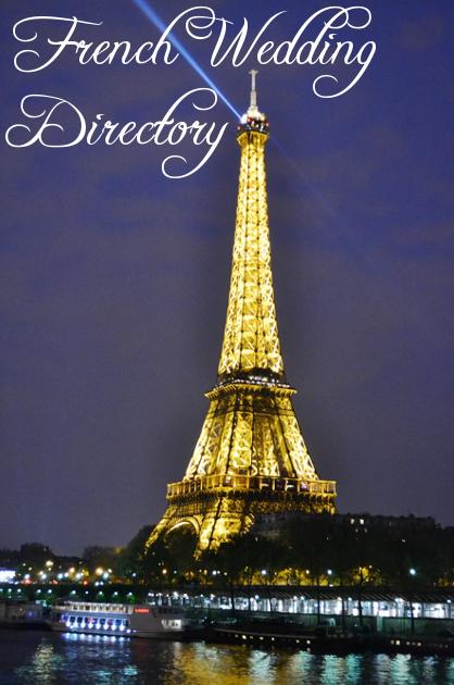 French Wedding Directory Eiffel Tower
