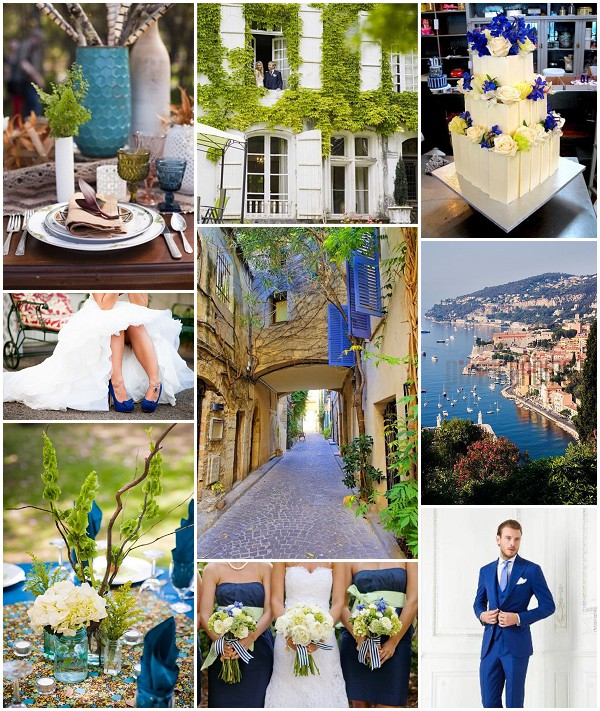 French summer wedding ideas