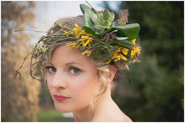 boho floral headdress