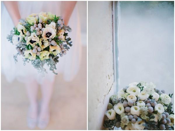 bridal bouquet winter