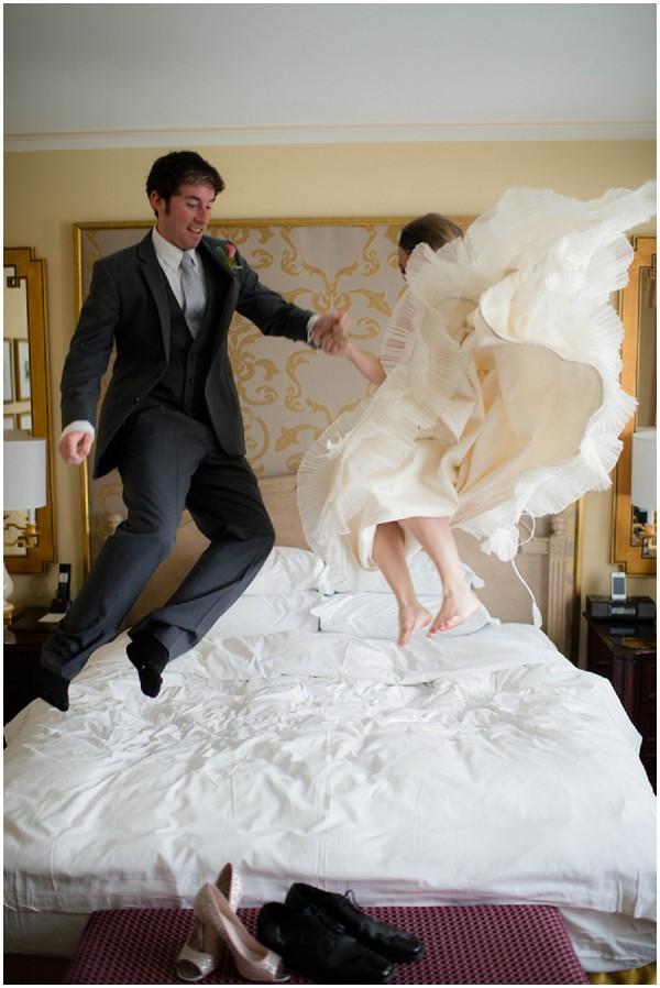 bride jump bed