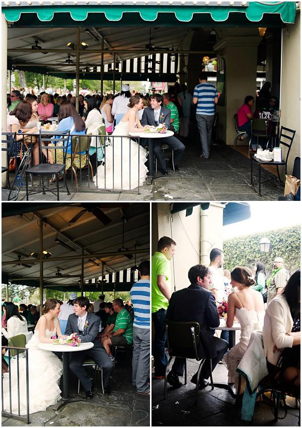 cafe wedding