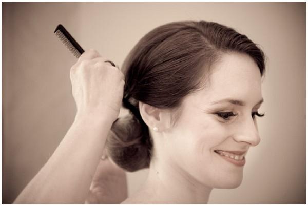 classic bridal hair makeup