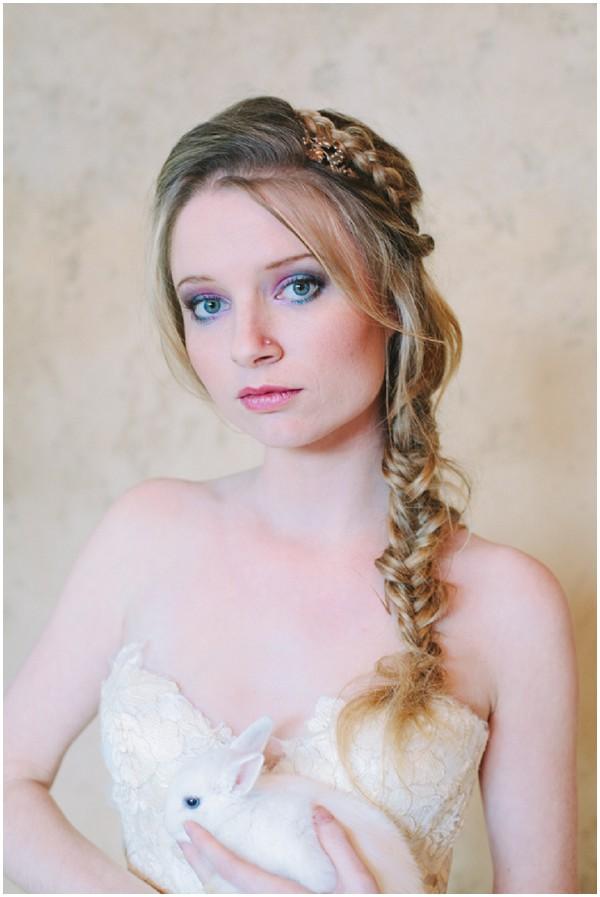 long bridal plait