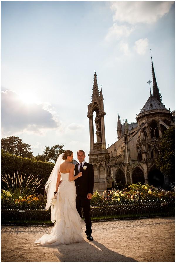 Paris Notre Dame Wedding
