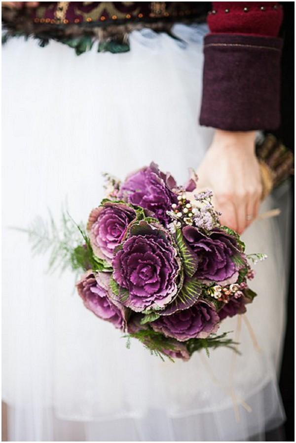 ornamental cabbages bouquet