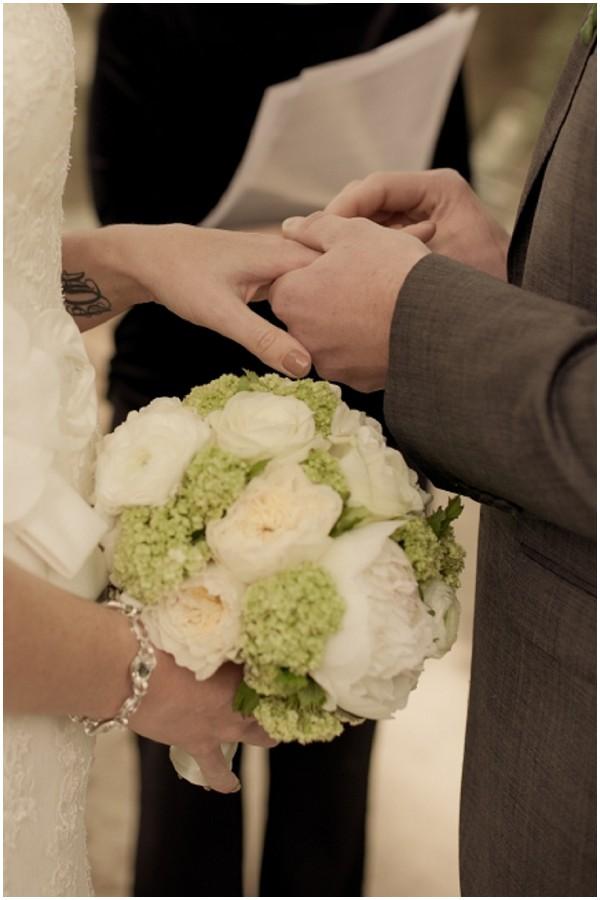 parisian bridal bouquet