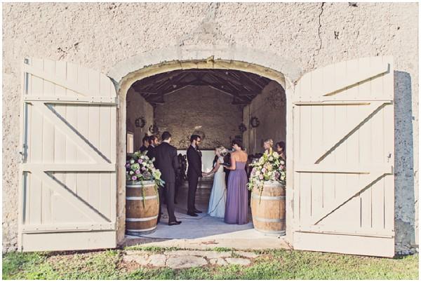 rustic barn wedding