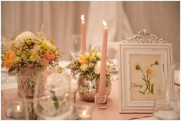 shabby chic tablecentres
