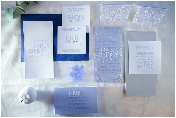 snow queen stationery