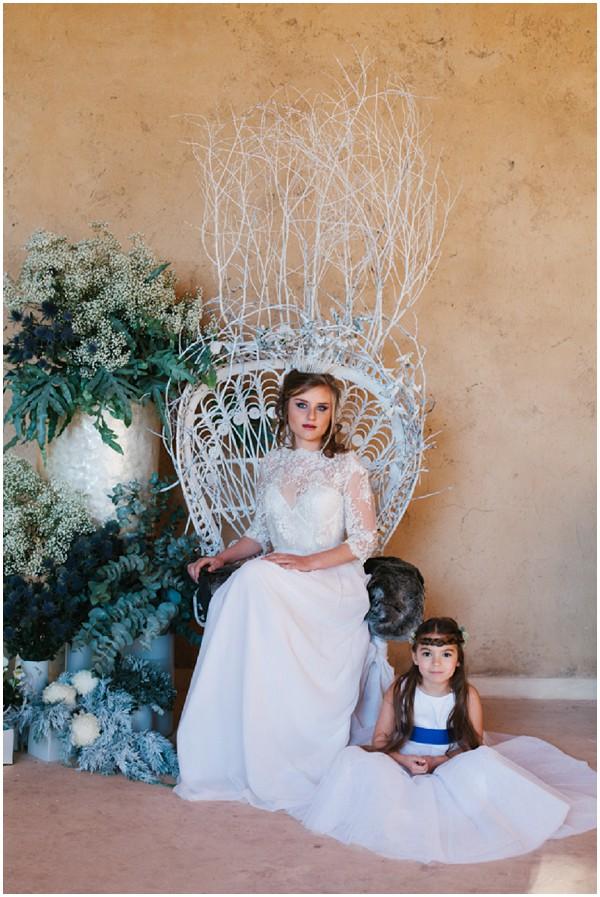 snow queen wedding