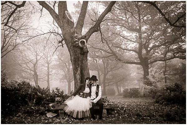 unusual wedding photography