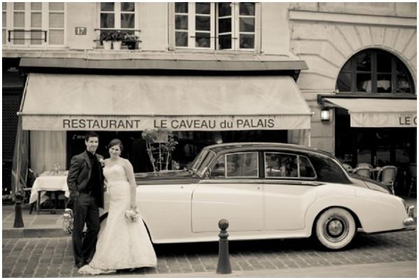 vintage car hire paris