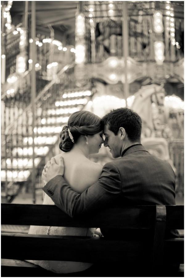 vintage style wedding photograph