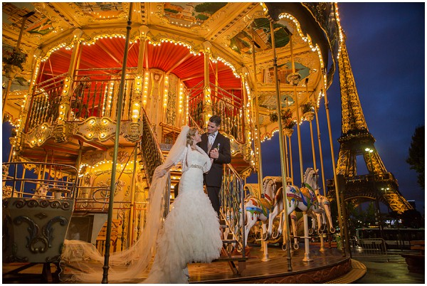 wedding carousel paris