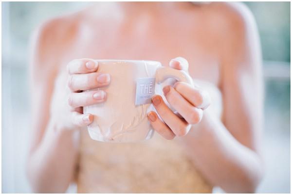 wedding personalised tea