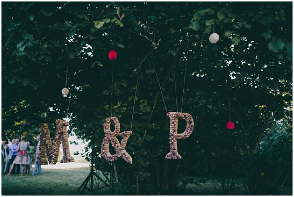wine wedding monograms