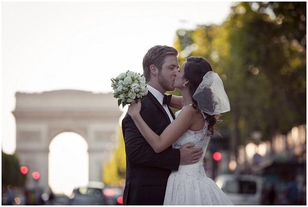 Champ Elysees wedding