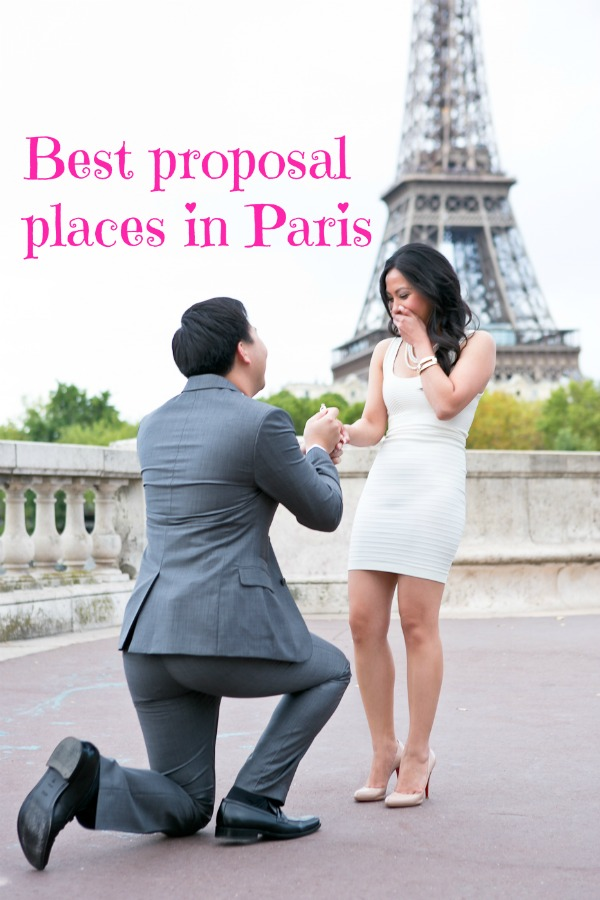 best proposal places in paris