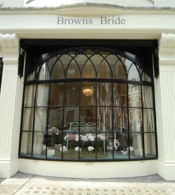 browns bride french wedding dress