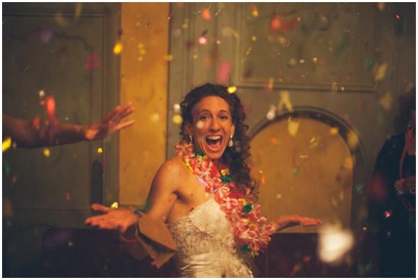 fun loving bride