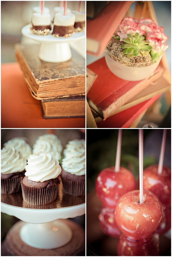 ideas for vintage wedding food