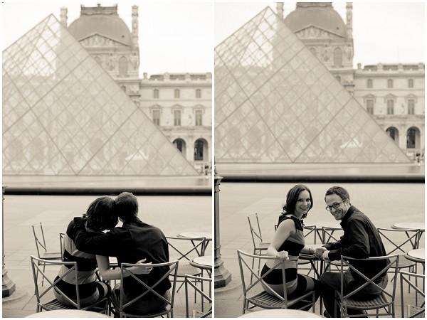 engagement louvre Paris