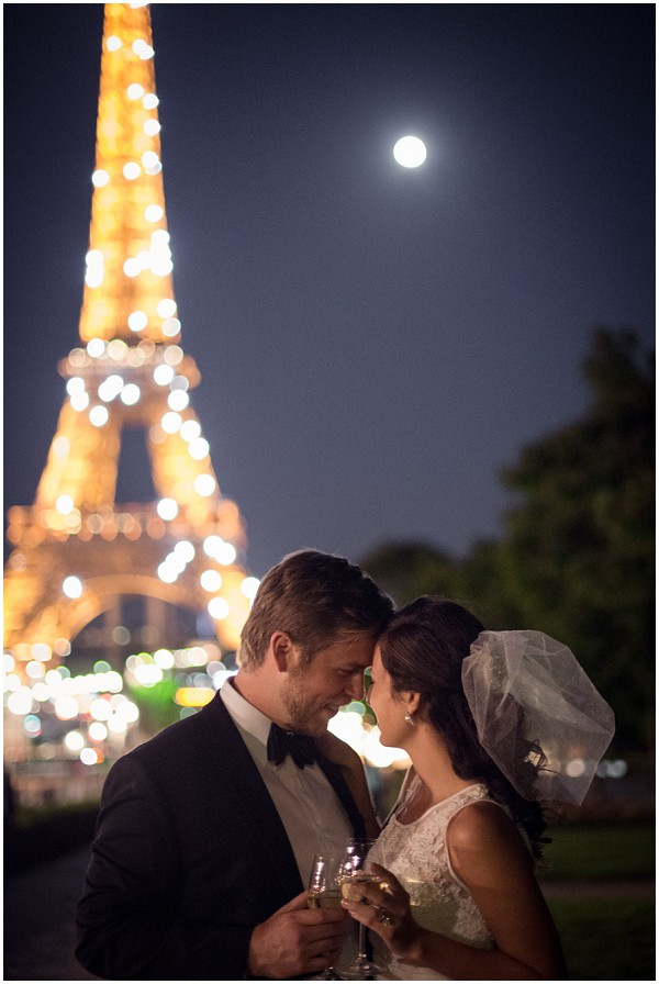 romantic wedding in paris