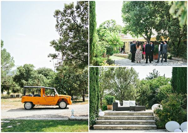 summer wedding provence