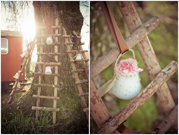 unique hanging wedding decorations
