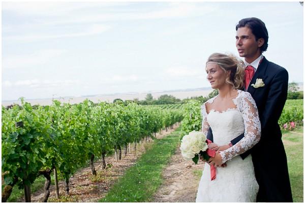 vineyard wedding bordeaux