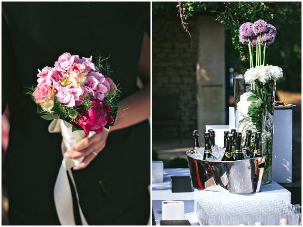 wedding flowers bright