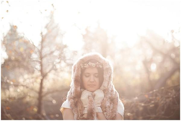 bridal snood