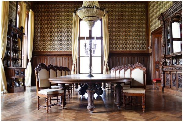 chateau dinning room