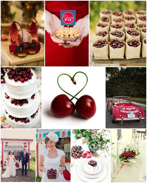 cherry wedding inspiration