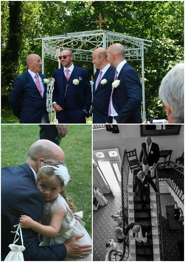 destination wedding groom