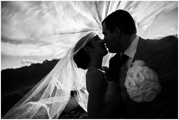 dramatic bride groom image