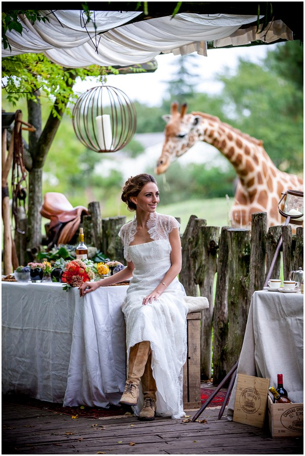 out of africa wedding theme