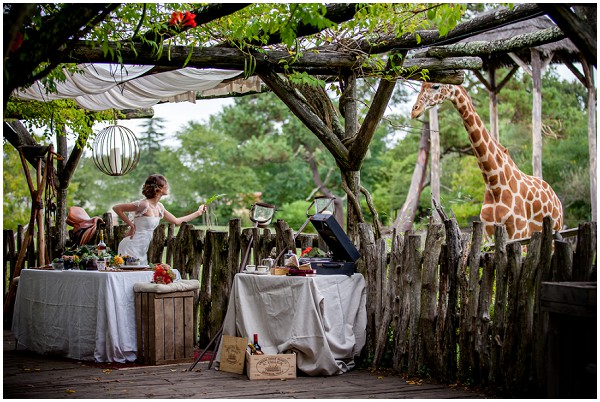 out of africa wedding ideas