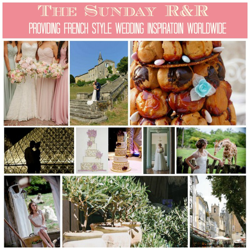 French Wedding Sunday R&R