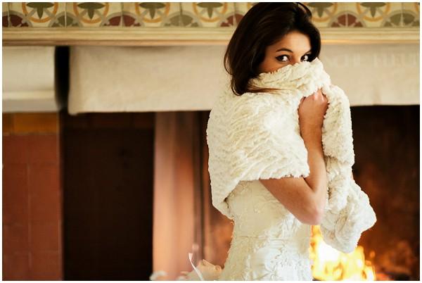 winter bridal ideas