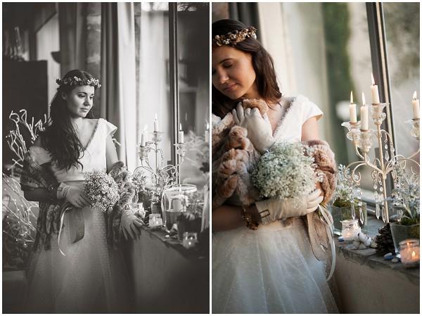 winter bridal inspiration