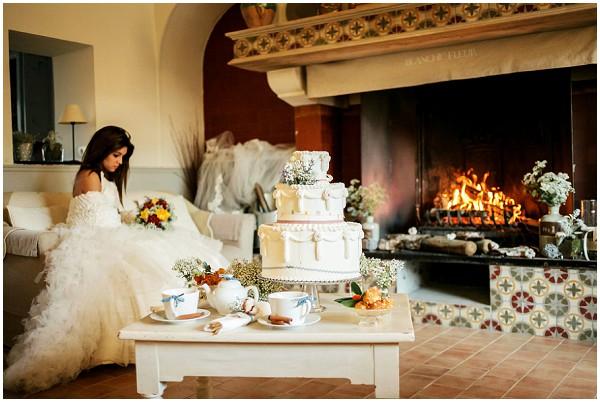 winter wedding celebration