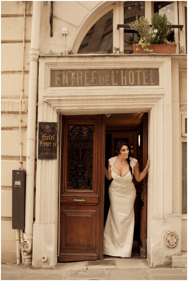 Nina Ferrer wedding
